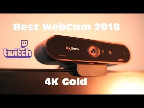 Best Streaming Webcam 2018 Logitech Brio 4k Review vs C920