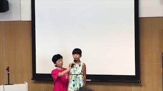 英語スピーチ(小学3年生)
