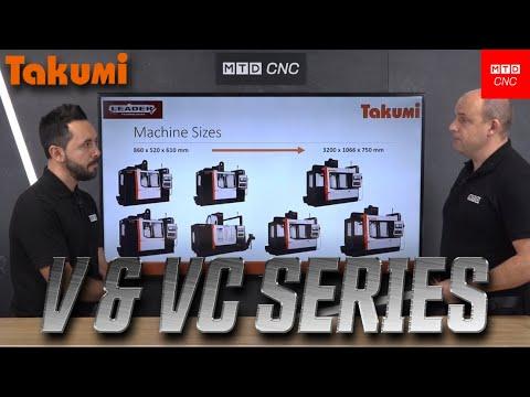 Takumi BOX WAY Vertical Machining Center