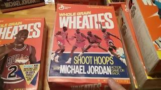 Collectible Wheaties boxes and more. Are they worth anything?