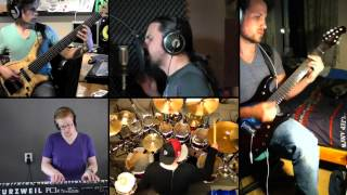 Dream Theater - A Fortune in Lies split screen cover by Panic Attack and Marcos Rodriguez