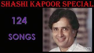 124 Songs of Shashi Kapoor    शशि कपूर रफी गाने   मोहम्मद रफ़ी गाने    Special Series
