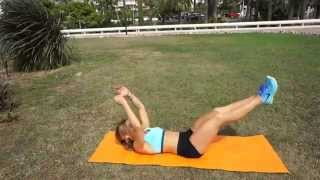 Quick ABS Workout for a nice and flat belly by Kasia Rain