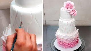 Wedding Cake Decorating Tutorial - Decorar Con Fondant By Cakes StepbyStep