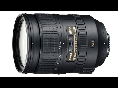 Nikon 28-300mm ED Zoom lens