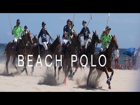 Beach Polo on Rivera Beach, FL.