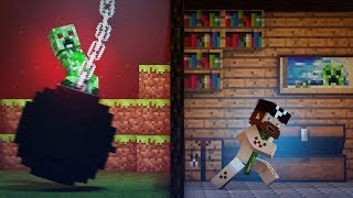 "♫ ""Wrecking Mob"" - A Minecraft Parody of Miley Cyrus' Wrecking Ball"