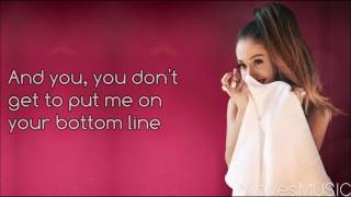 Ariana Grande - Jason's Song (Gave It Away) (Lyrics)