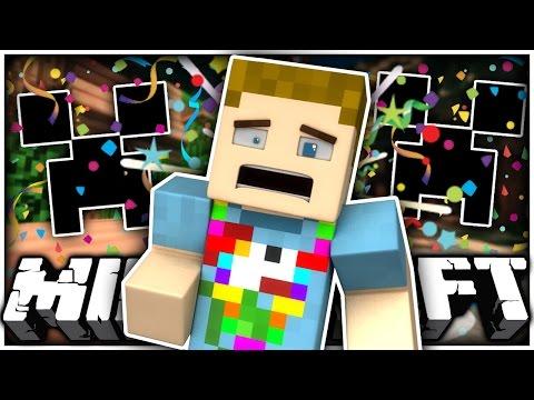 Minecraft: CONFETTI CREEPERS & BIKINIS!! | Weird Mods
