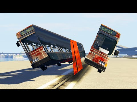BeamNG Drive - CUT the Car! #5 (Cars cutting crashes)