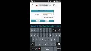 gpon wifi router password - Thủ thuật máy tính - Chia sẽ