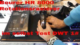 Beurer HR 8000 Rotationsrasierer im selbst Test DWT 1#