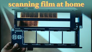 how i scan 35mm and 120 film at home (scanning with film borders, and getting better colors)