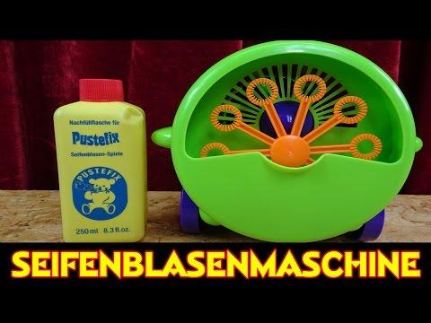 INFACTORY SEIFENBLASENMASCHINE - ...macht jede Menge Seifenblasen :-)