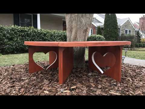 DIY Circular Tree Bench