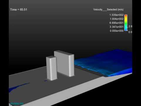 Tsunami CFD Modeling