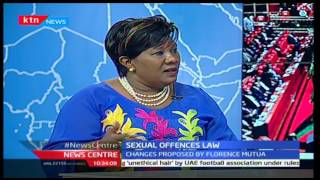 NEWS  CENTRE: Interview on Sexual offences Law with Florence Mutua