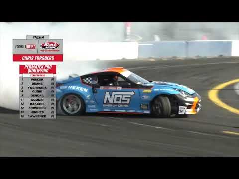 フォーミュラ・ドリフト モンロー BC Racing ベストドリフト映像