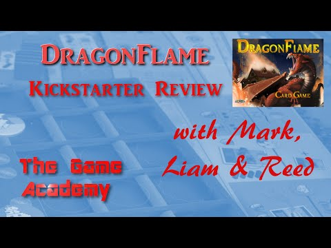 The Game Academy - DragonFlame Review (Kickstarter Preview)