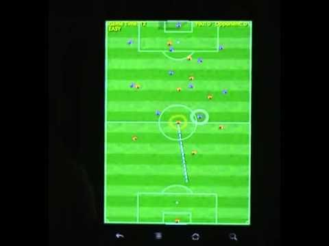Video of Football Game (soccer)
