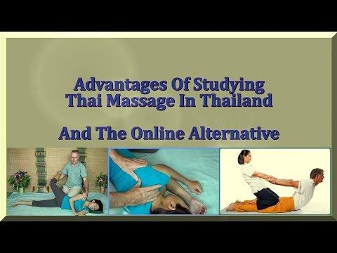 Study Thai Massage In Thailand And An Online Alternative - YouTube
