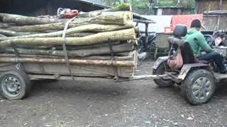 Tractoras Facut Acasa 4X4