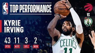 Kyrie Irving Leads the Way With 43 Points & 11 Assists Vs. The Raptors | November 16, 2018