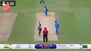 India vs Bangladesh ICC World Cup 2019 Match Highlights, India Won By 28 Runs.