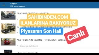 2CR Ankara - Canlı Yayın - SAHİBİNDEN.COM İLANLARINA BAKIYORUZ