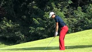 [300FPS] Bae Sang Moon Iron with Practice Golf Swing (11)