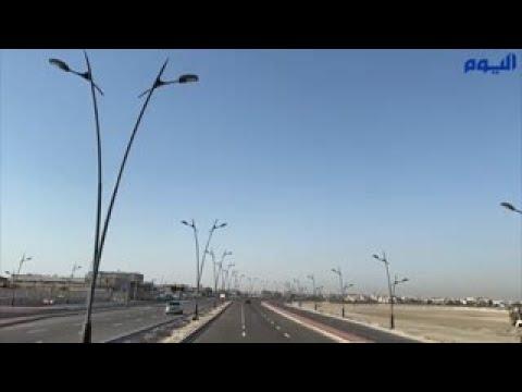 الانتهاء من مشروع الطريق الحلقي شمال تاروت