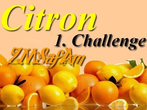ZMSafAm // 1. Challenge (citron)
