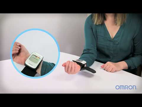 How To Take a Blood Pressure Measurement Using An UltraSilent Wrist Monitor