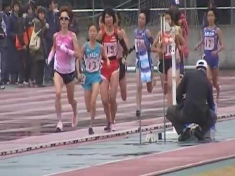 20121123 東京都 都道府県駅伝代表選考レース中学女子3000m