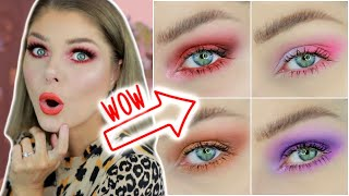 How To Make Your Green Eyes Pop With Makeup | 4 Easy Eye Looks