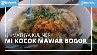 Icip Gurihnya Kuah Kaldu Kental Mi Kocok Mawar, Kuliner Legendaris di Bogor Sejak Tahun 1970