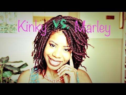 Kinky Twist Hair vs. Marley Twist Hair | TEEDAY6