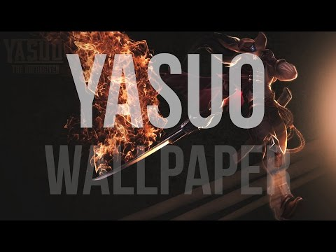 Wallpaper in Photoshop - League of Legends (High Noon Yasuo)