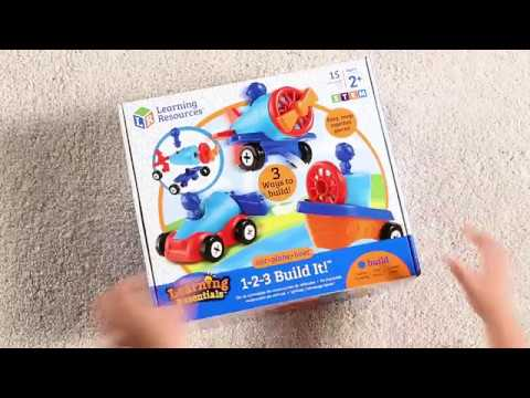 Youtube Video for Car, Boat and Plane - 1-2-3 Build It