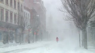Scenes from Thursday's snow storm