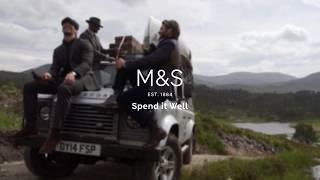 M&S   Men's Formalwear: Tailor-Made Adventure