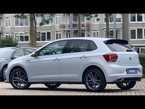 Volkswagen NEW Polo R-Line 2020 in 4K White Silver 17 inch Pamplona dark walk around & detail inside