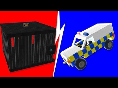 Scrap Mechanic - The Most INSANE Escape Room (Find The Button)   JeromeACE