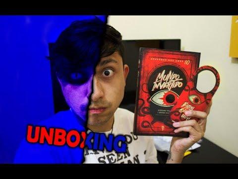 UNBOXING REVIEW - MUNDO INVERTIDO ANTOLOGIA