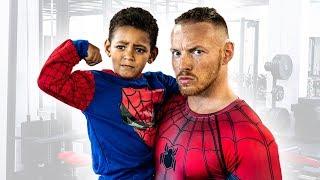 DADDY WORKOUT | Ganzkörper Training für Kinder zum LIVE Mitmachen (15 Minuten)