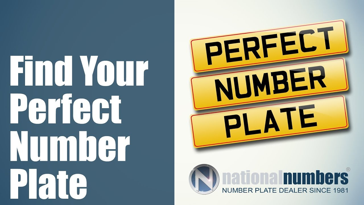 Find Your Perfect Number Plate