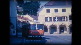 preview picture of video 'Obus Kapfenberg Bruck a.d. Mur (Super8 film)'