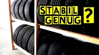 Reifenregal selber Bauen| DIY | Let's Pfusch