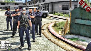 CHEVY CAPRICE  GANG UNIT PATROL!!!  #141 (GTA 5 REAL LIFE PC POLICE MOD)