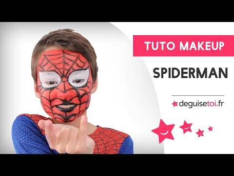 Tutoriel maquillage de Spiderman